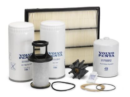 Volvo Penta service kit for Volvo Penta D6 Series, Part Number 21704967