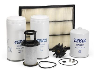 Volvo Penta service kit for Volvo Penta D4, Part Number 21704968