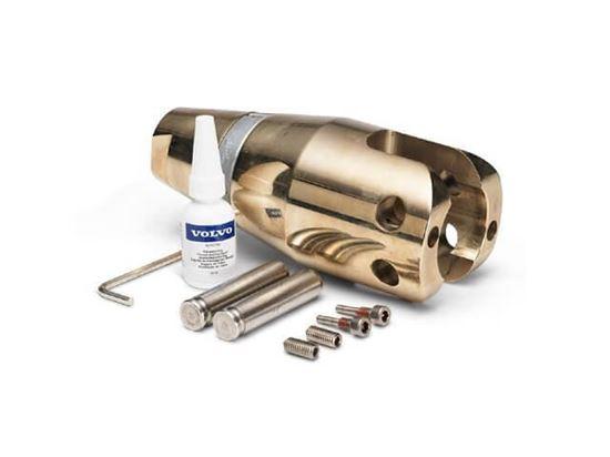 Volvo Penta 2 blade, pre drilled folding propeller hub kit, Part Number 21630725