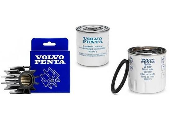 Volvo Penta service kit for Volvo Penta D2-50, D2-55, D2-60 and D2-75 Series, Part Number 21189426