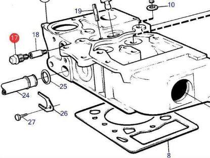 Volvo Penta Brass Anode Plug For Diesel Engines, Part Number 838928