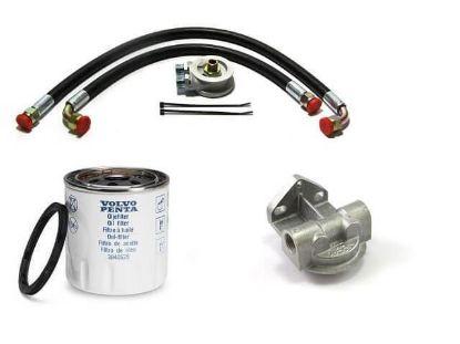 Volvo Penta D1-30 remote oil filter kit, Part Number FYB070
