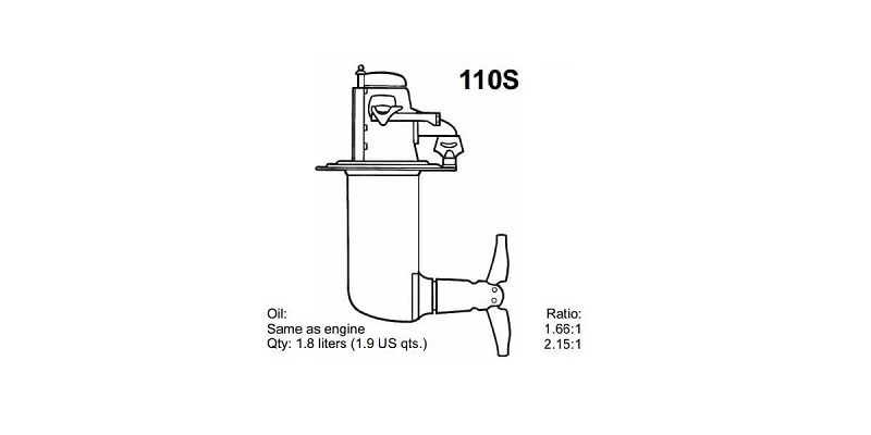Picture for category TYPE-Volvo Penta 110S Series